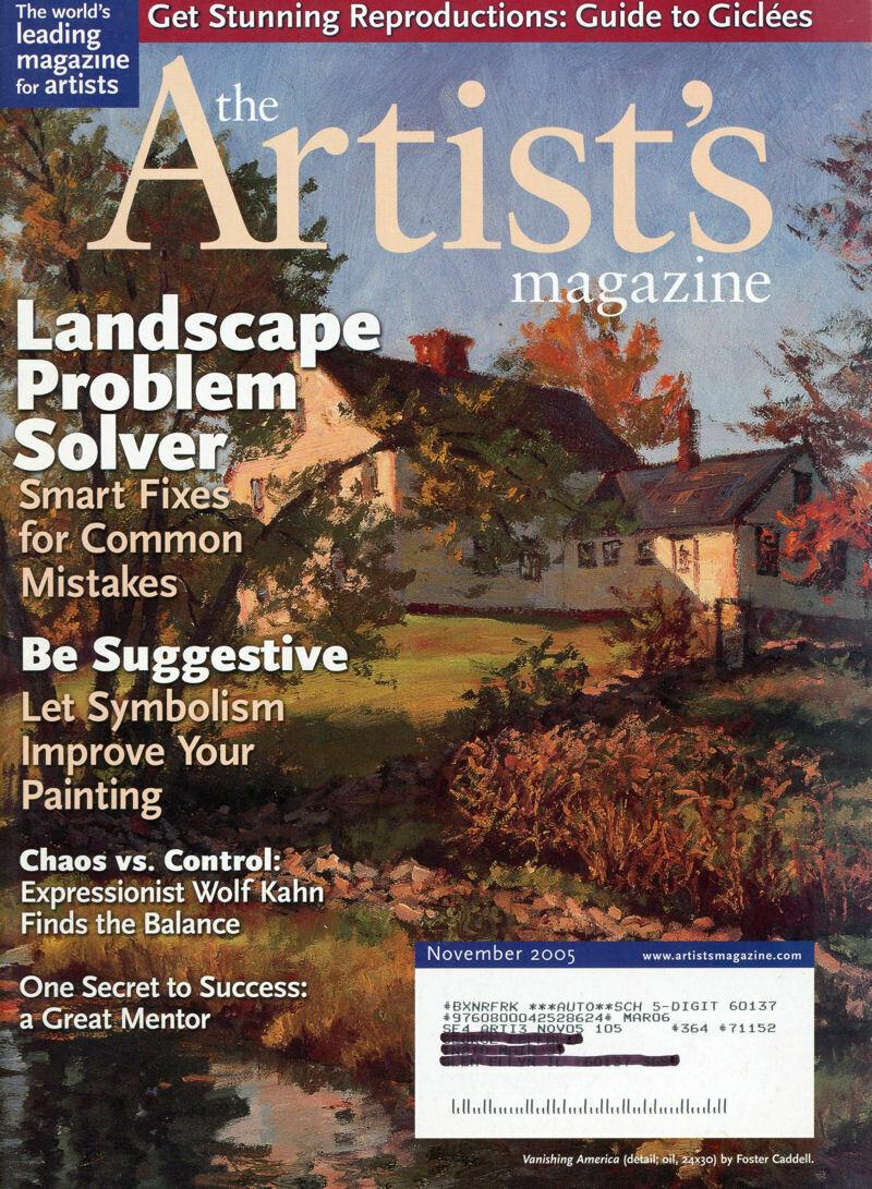 The Artist's Magazine Nov 2005