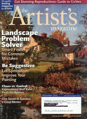 The Artist's Magazine Nov 2005