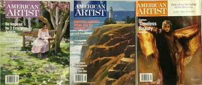 American Artist Magazines 2003-2005 (Lot of 3 Issues)