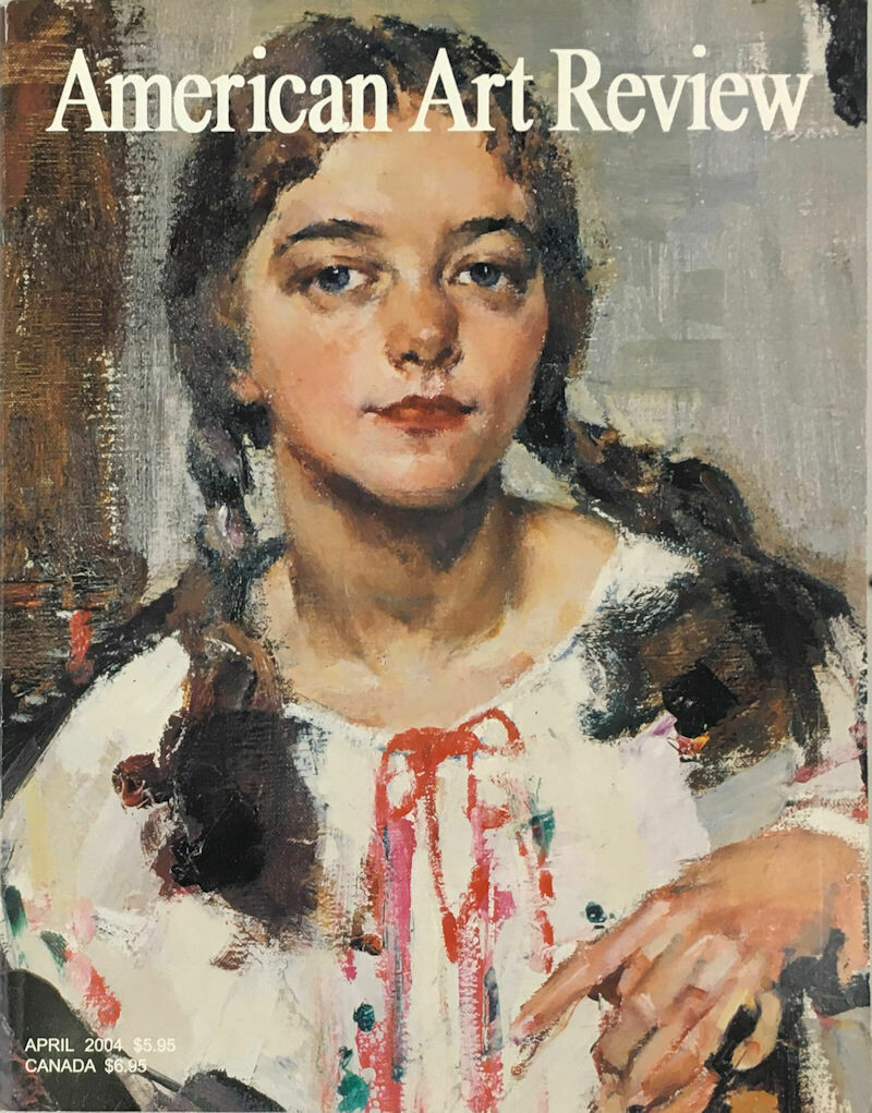 American Art Review Mar-Apr 2004 Fechin, Whistler, Grant Wood, Eastman Johnson, Coburn