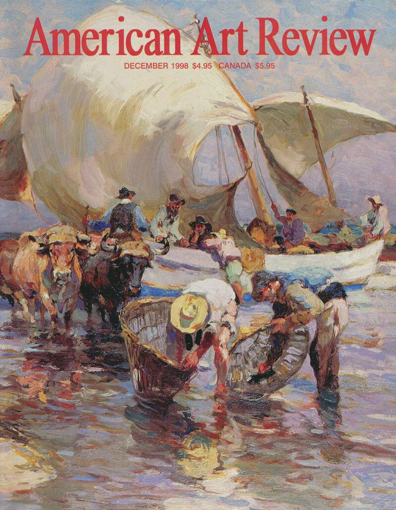 American Art Review Nov-Dec 1998 Alten, Richards, Mount, Price, Ziegler, Miller