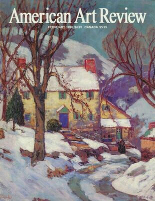 American Art Review Jan-Feb 1998 Shulz, Whistler, CA 1930s-1940s, Davis, Sheeler, Steichhen