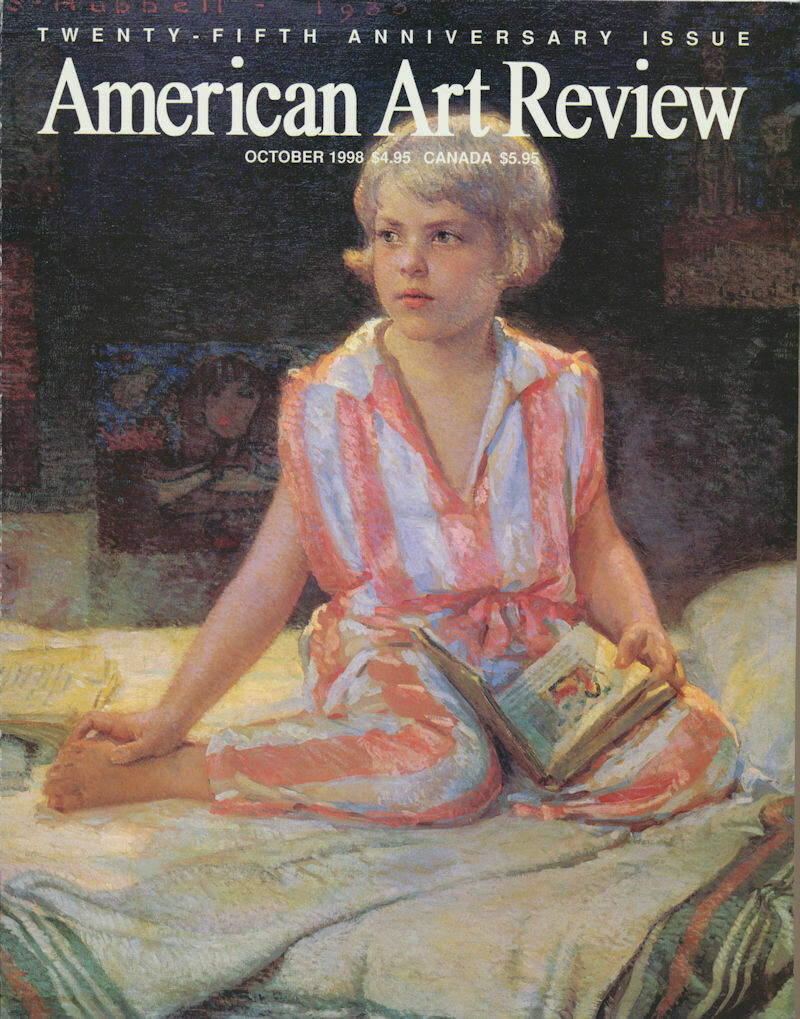 American Art Review Sep-Oct 1998 25th Anniversary - Hubbell, Rockwell, Taos, Borein, Rockport Art