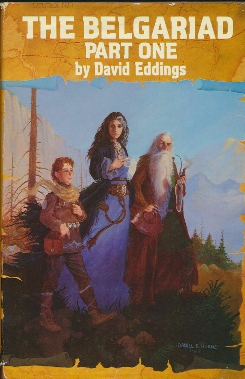 The Belgariad Part One and Two by David Eddings Hardcover BCE