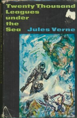 Twenty Thousand Leagues Under the Sea by Jules Verne Jr Deluxe Edition HC/DJ 1956