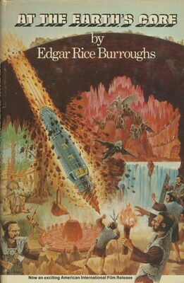 At the Earth's Core by Edgar Rice Burroughs BCE HC/DJ Film Edition.
