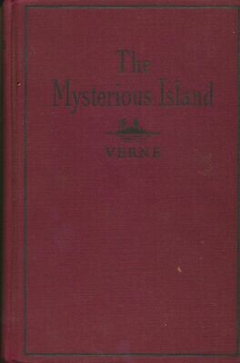 The Mysterious Island - Jules Verne - HC 1935