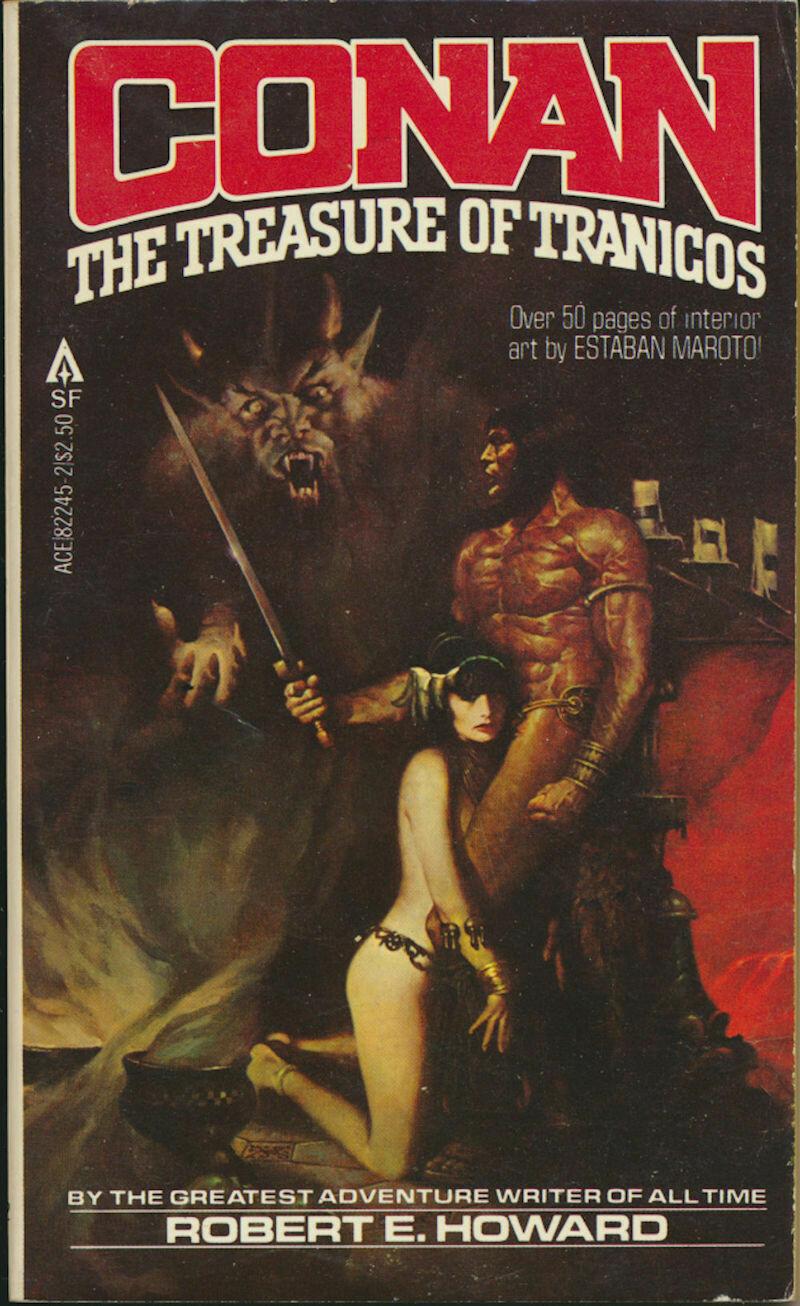 Conan The Treasure of Tranicos by Robert E. Howard ACE 82245-2 1st 1980 Softcover