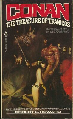 Conan The Treasure of Tranicos by Robert E. Howard ACE 82245-2 1st 1980 Softcover