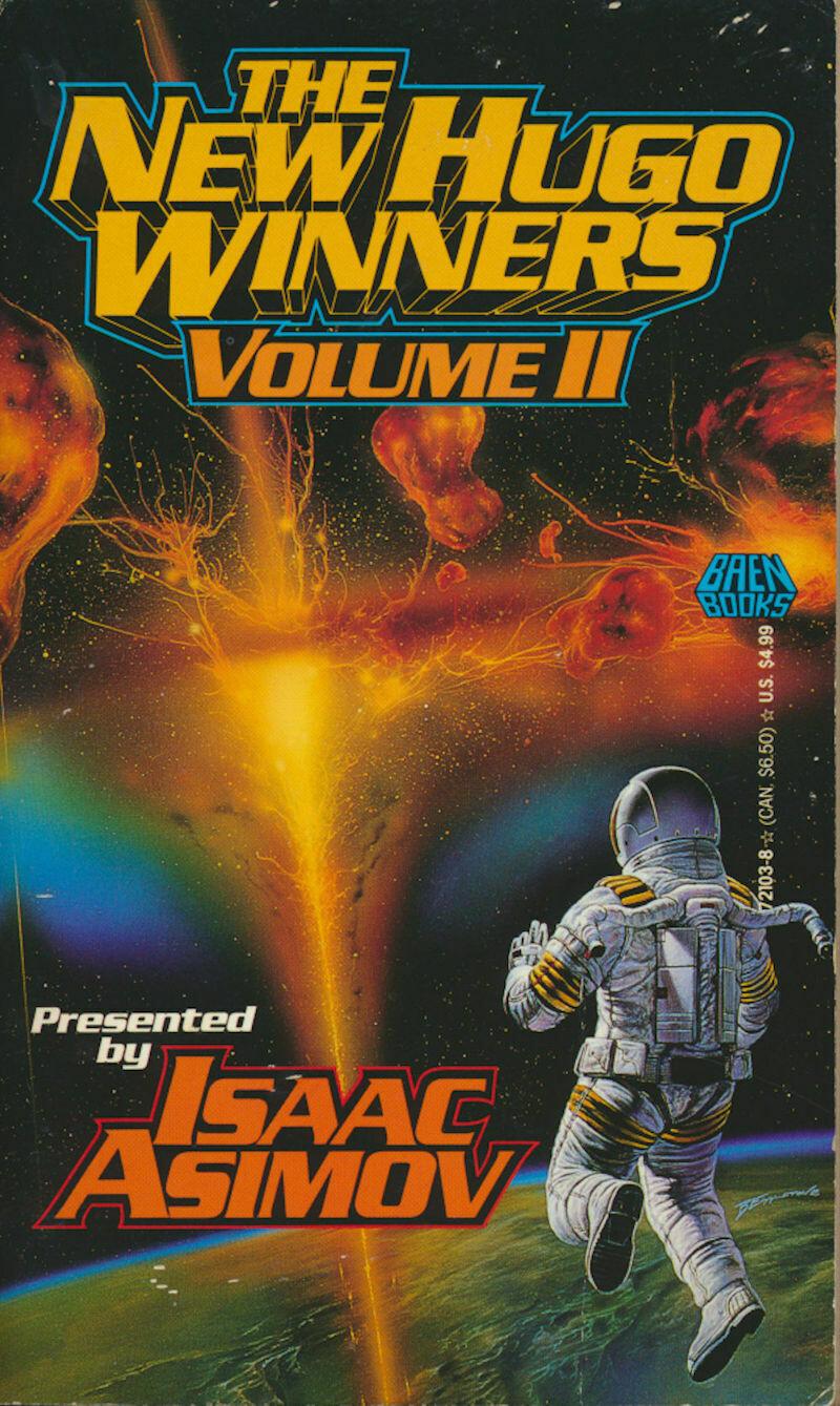 The New Hugo Winners Volume II - Isaac Asimov 1st 1992 Softcover