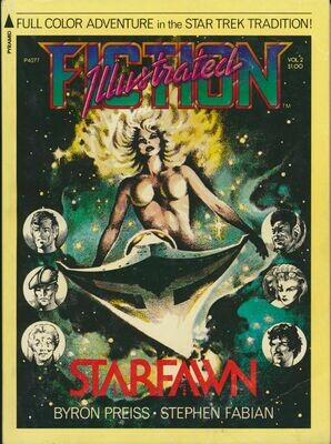 Starfawn: Fiction Illustrated Vol.2 by Byron Preiss, 1st Printing 1976 Graphic Novel Softcover