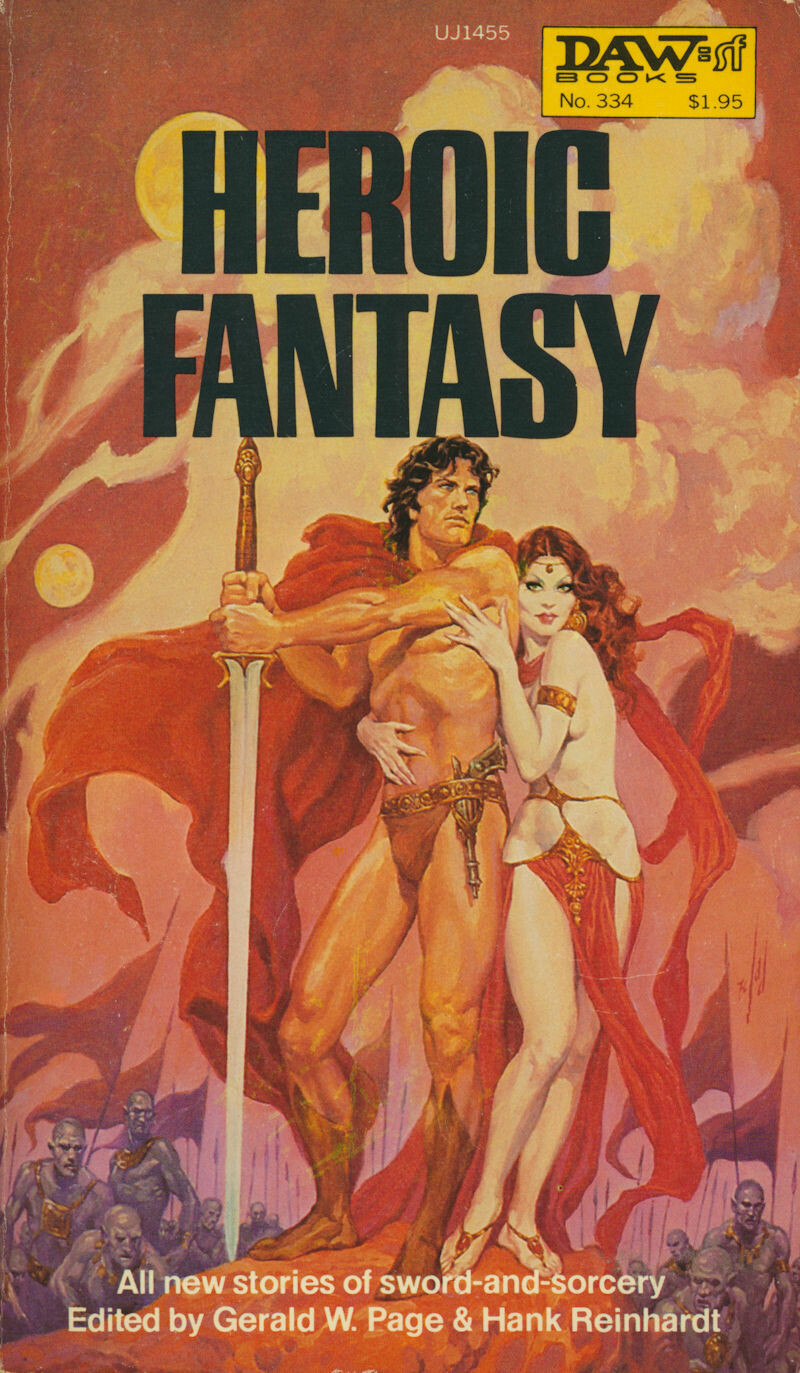 Heroic Fantasy - Swords & Sorcery Anthology DAW No.334 1979 1st Printing Softcover