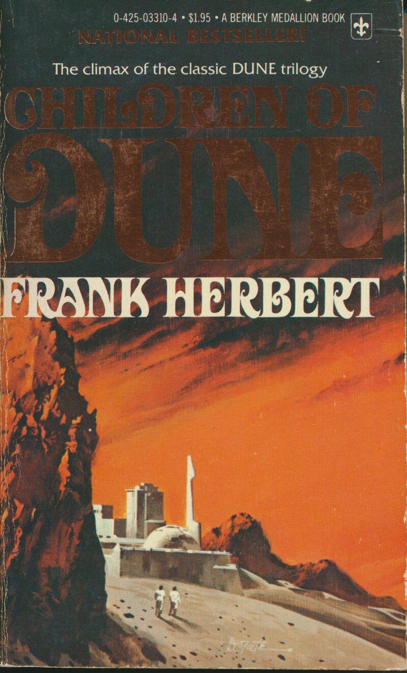 Children of Dune by Frank Herbert (1977) Berkley Medallion Paperback