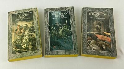 Dennis L McKiernan 3 Book LOT - The Iron Tower Trilogy Paperbacks 1985