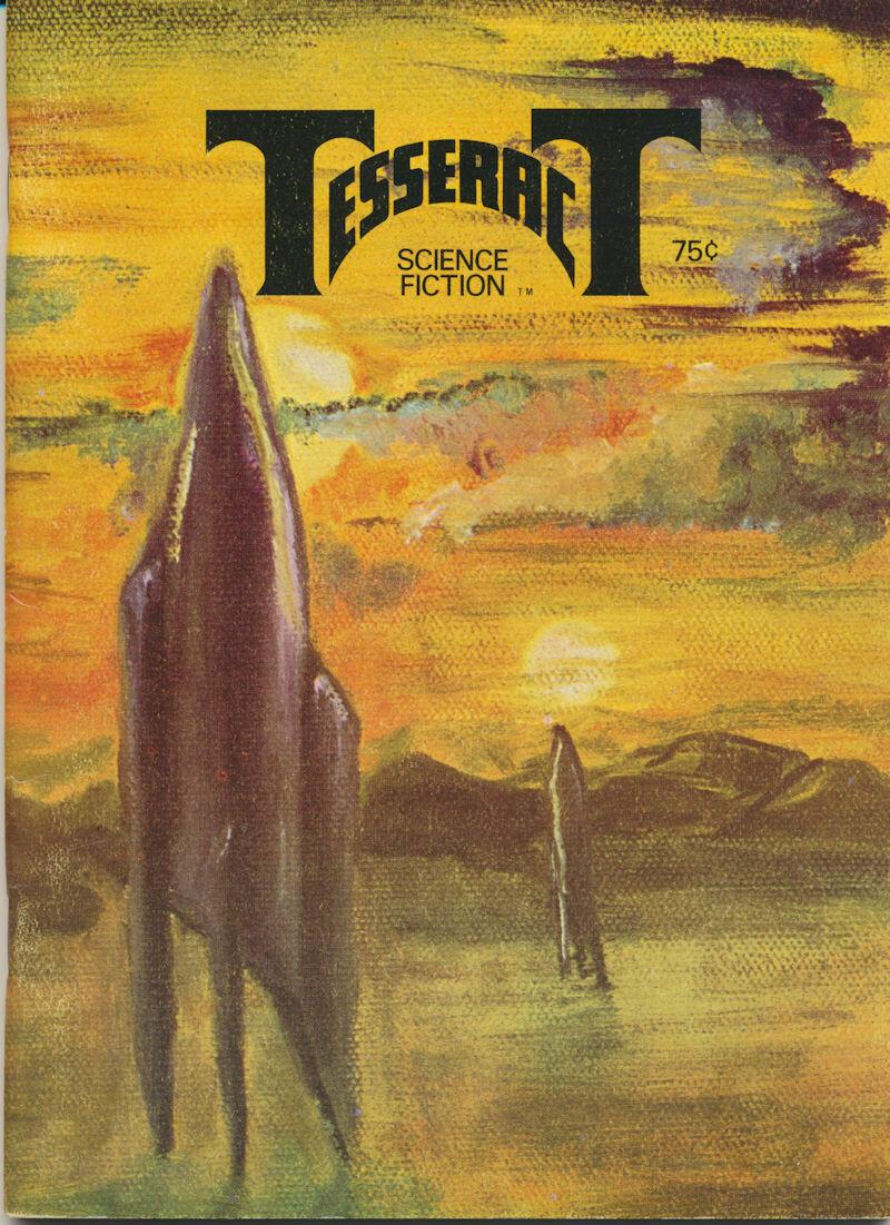 Tesseract Science Fiction Magazine - Mary Ann Cramer Cover Art 1977
