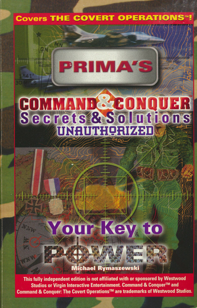 Command and Conquer Secrets and Solutions : The Unauthorized Edition Paperback 1996 2d Printing