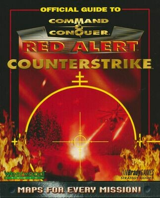Official Guide to Command & Conquer Red Alert Counterstrike PB 1997
