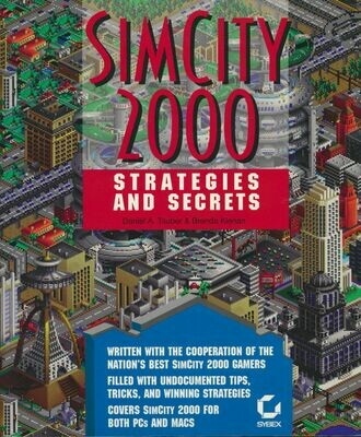 SIMCITY 2000 Strategies And Secrets Paperback 1994
