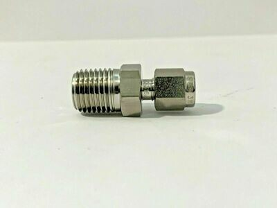"""1/8"""" - 1/4"""" Male Connector SMC-2-4N-S6"""
