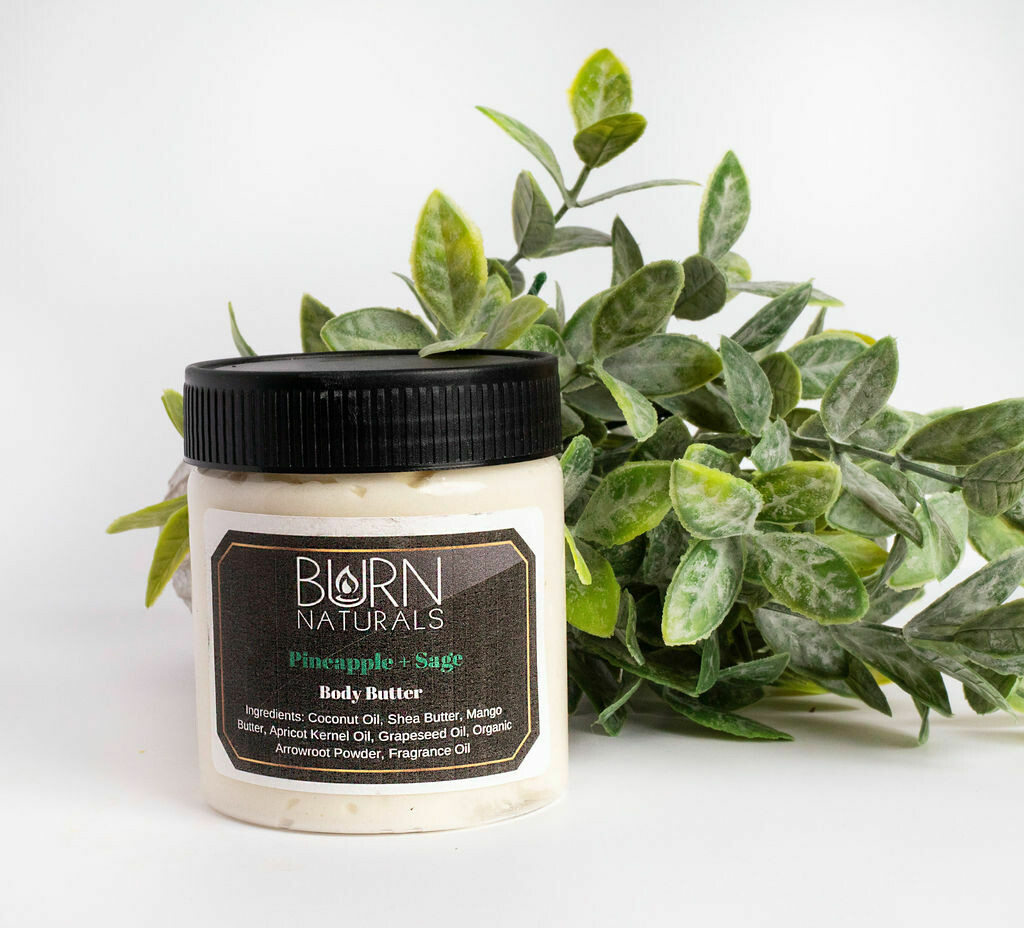 Pineapple Sage Body Butter 8oz