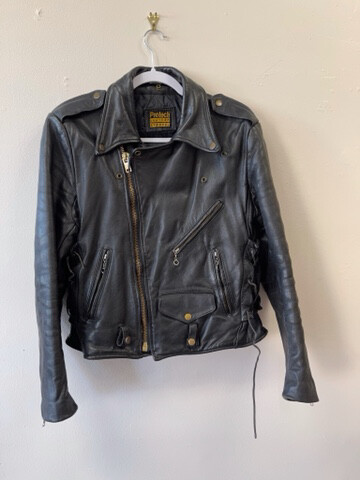 Black ProTech Biker Jacket