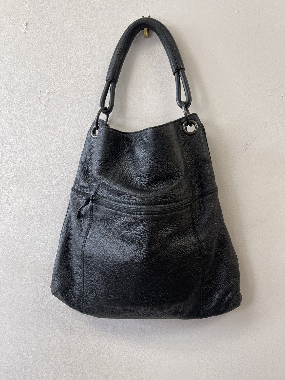 Bottega Veneta Fold-over Calf-leather Bag