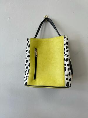 Samoe Style Leather Bucket Bag