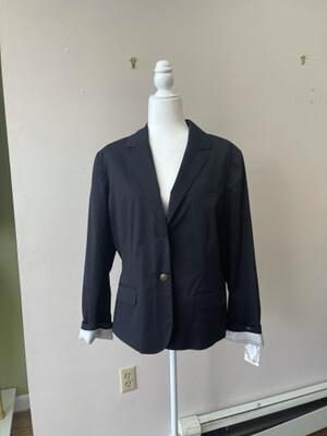 Apt. 9 Black Blazer, Size 18