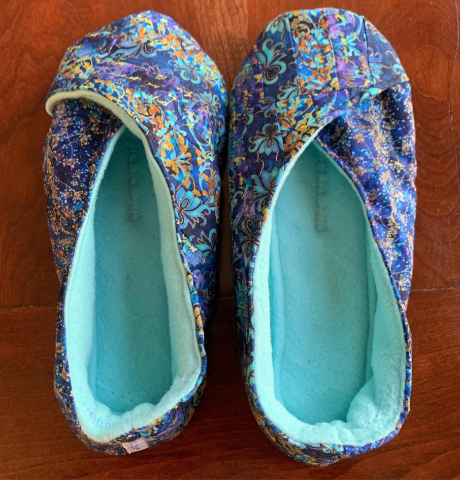 Pandora Blue Kimono Shoes