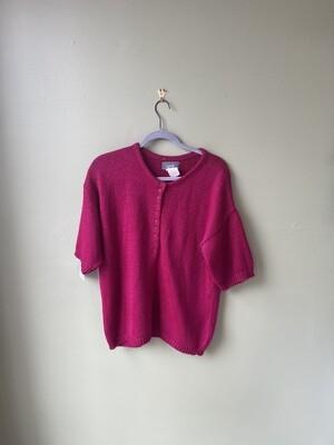 Vintage Pink Alison J. Sweater, Size L