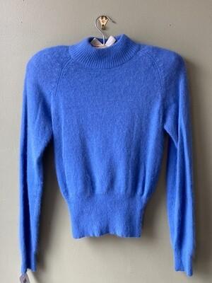 Vintage Turquoise Brand Angora/Lambswool Sweater, Size S