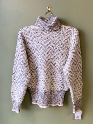 Liz Claiborne Herringbone Pattern Sweater, Size M