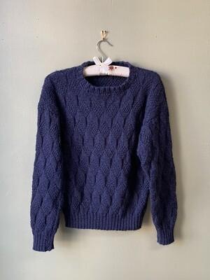 Deep Blue Sweater, Estimated Size M