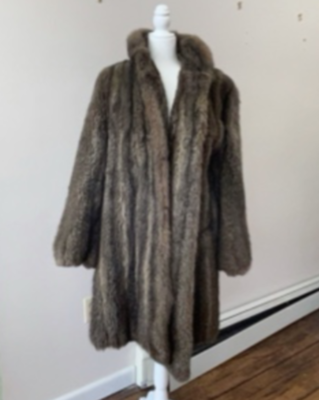 Vintage G. Fox & Co. Fur Coat