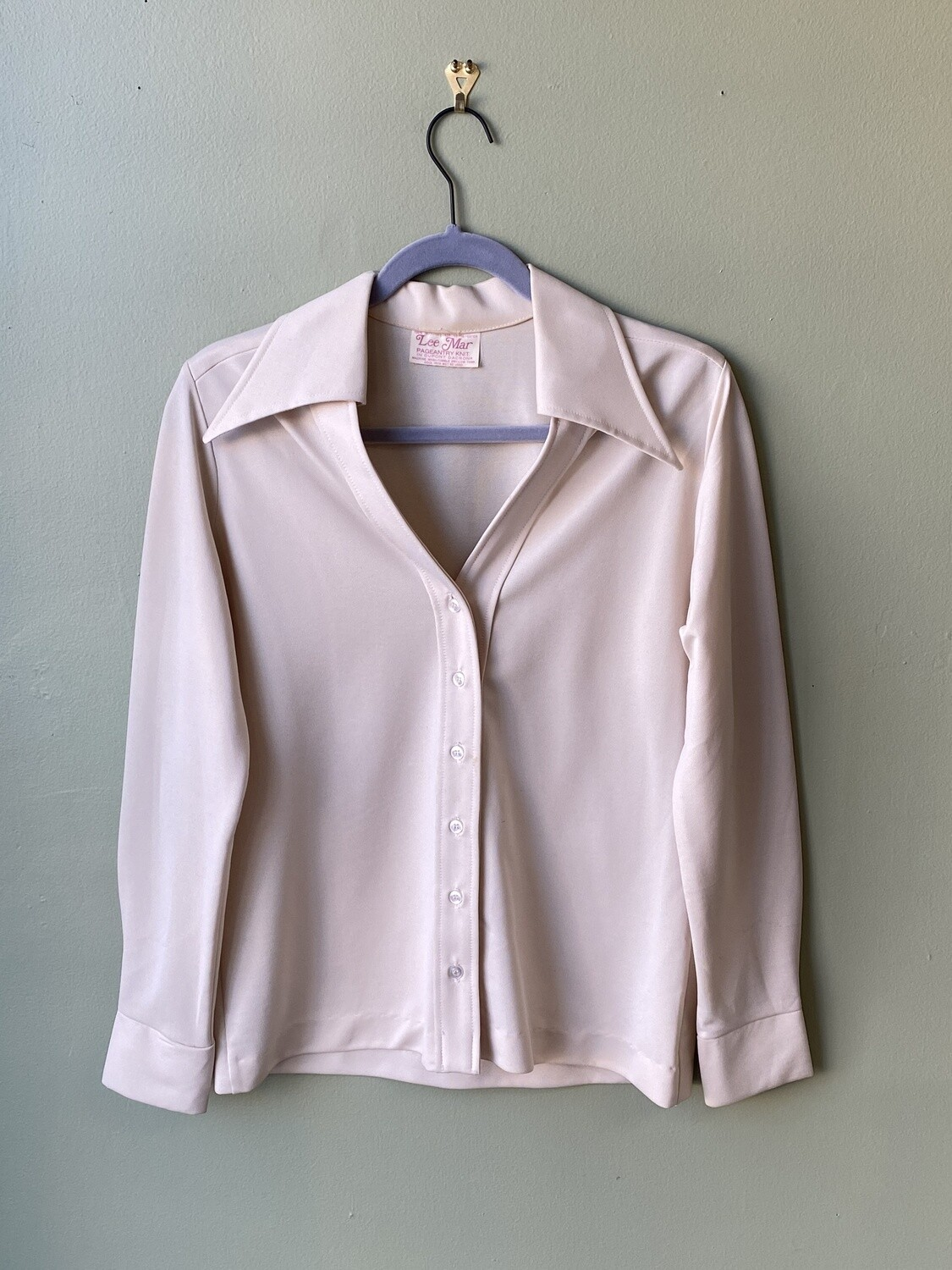 Vintage Lee Mar Pageantry Knit Blouse
