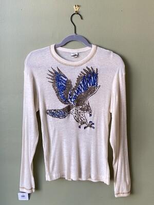 Vintage Ribit Eagle Sweater, Size M