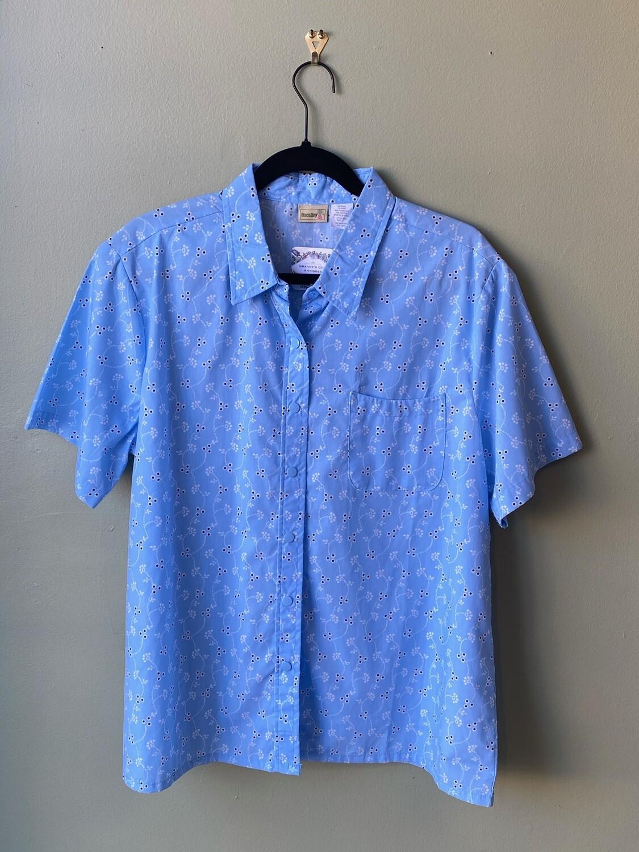 Vintage BocaBay Blue Shirt, Size L