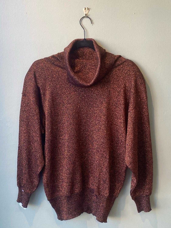 Vintage 80's Regency Collection Good Sparkle Shirt, Size S