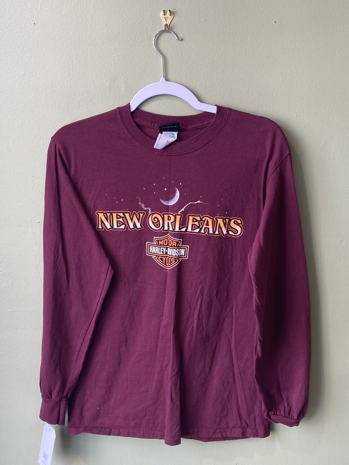 New Orleans Harley Davidson Tee Shirt, Size S