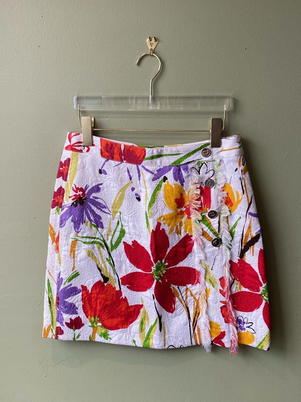 Dolce & Gabbana Floral Skirt, European Size 40