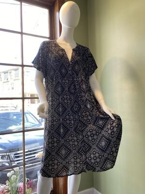 Knox Rose Midi-length Summer Swing Dress, Size XL