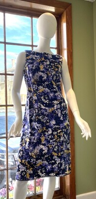 Talbot's Floral Sheath Dress, Size 12