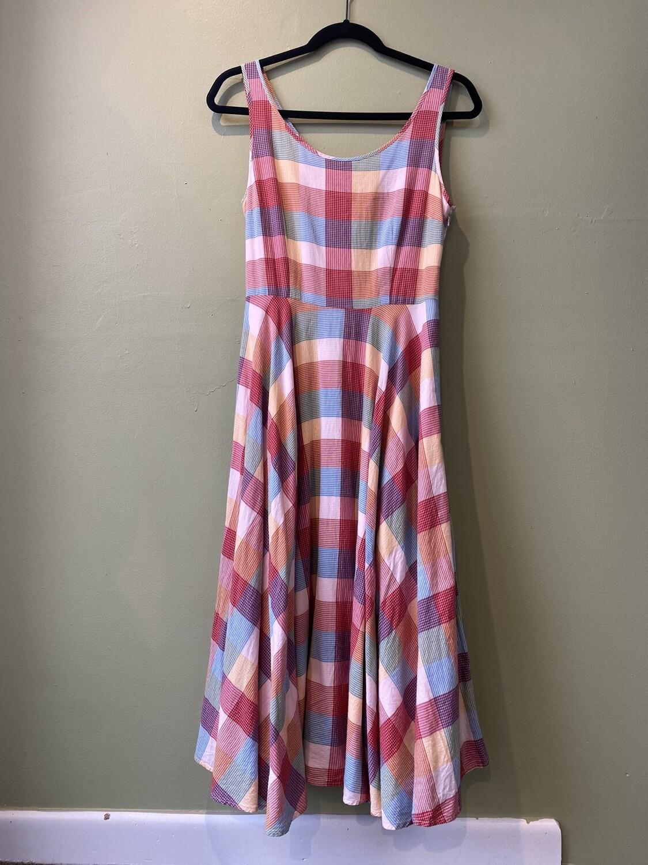 L L Bean  2 Dress full skirt