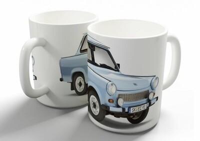 Blue Trabant 601 Coffee Mug
