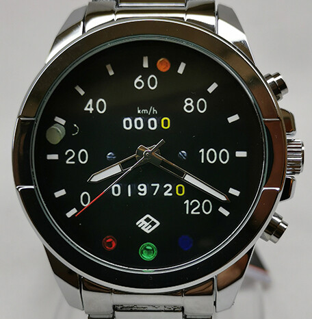 Bright Stainless Strap Trabant 601 Time Piece