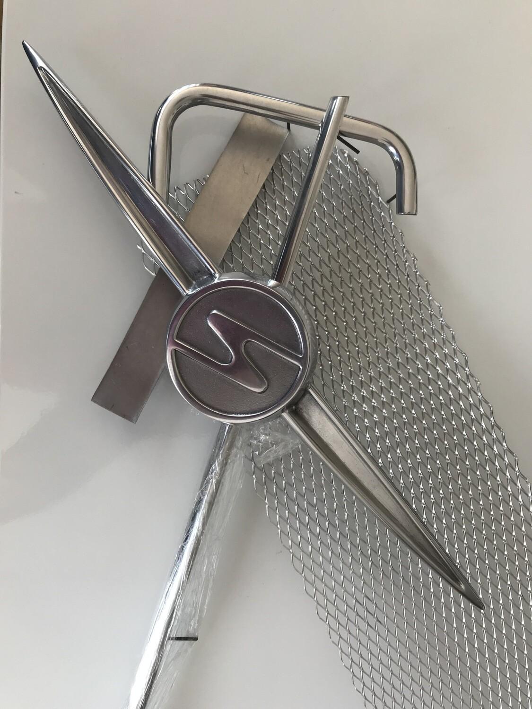 Trabant 601 Polished Aluminium Grill Kit
