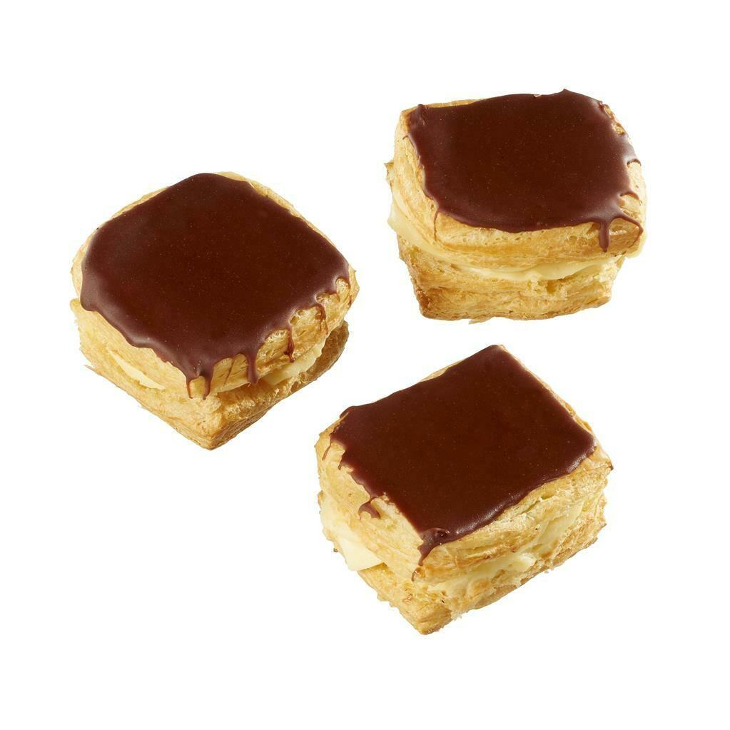 Chocolade crèmekoek (per 2 stuks) 54470