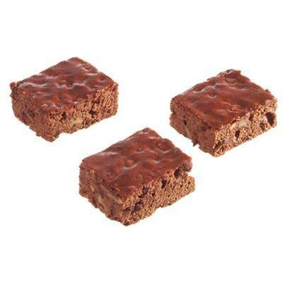 Vegan brownies zonder suiker (per 3 stuks) 62420