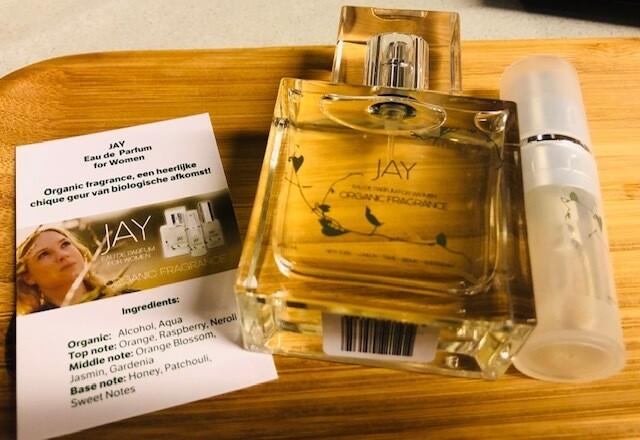 Jay eau de parfum met gratis tasverstuivertje
