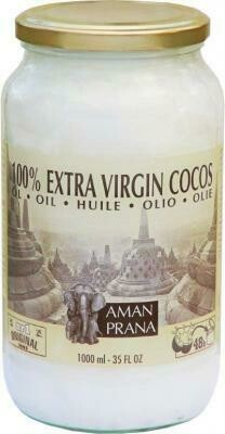 Amanprana extra virgin kokosolie 1l